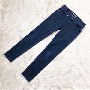 Levi's Denim Jeans Slight Curve Mid Rise Skinny